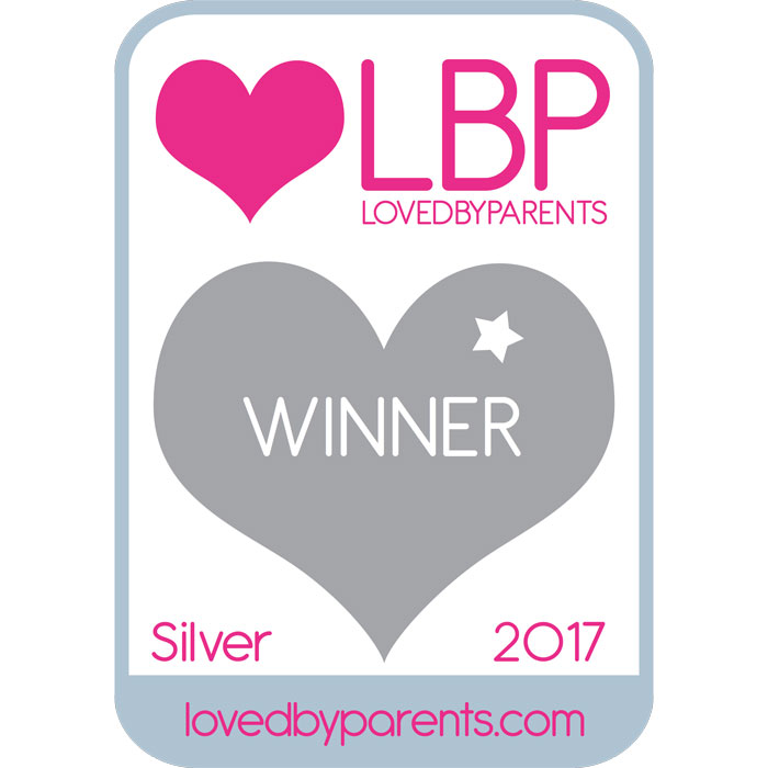 Loved by Parents Silver Award - Best Ride On 1-3 Years