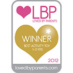 Loved by Parents Gold Winner - Best Activity Toy 1-3 Years
