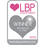 Loved by Parents Silver Award - Best Ride On