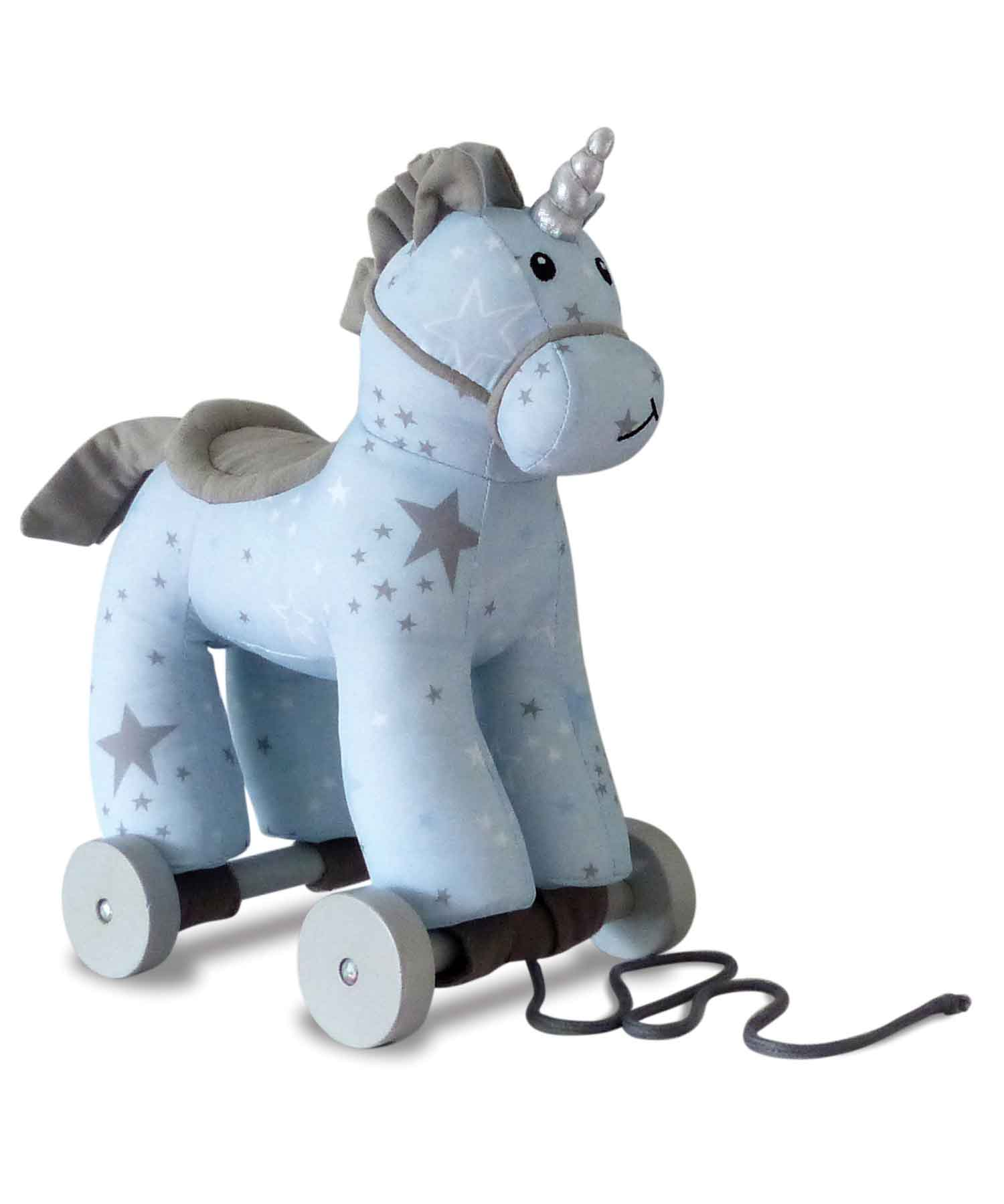 Moonbeam Unicorn Pull Along Toy