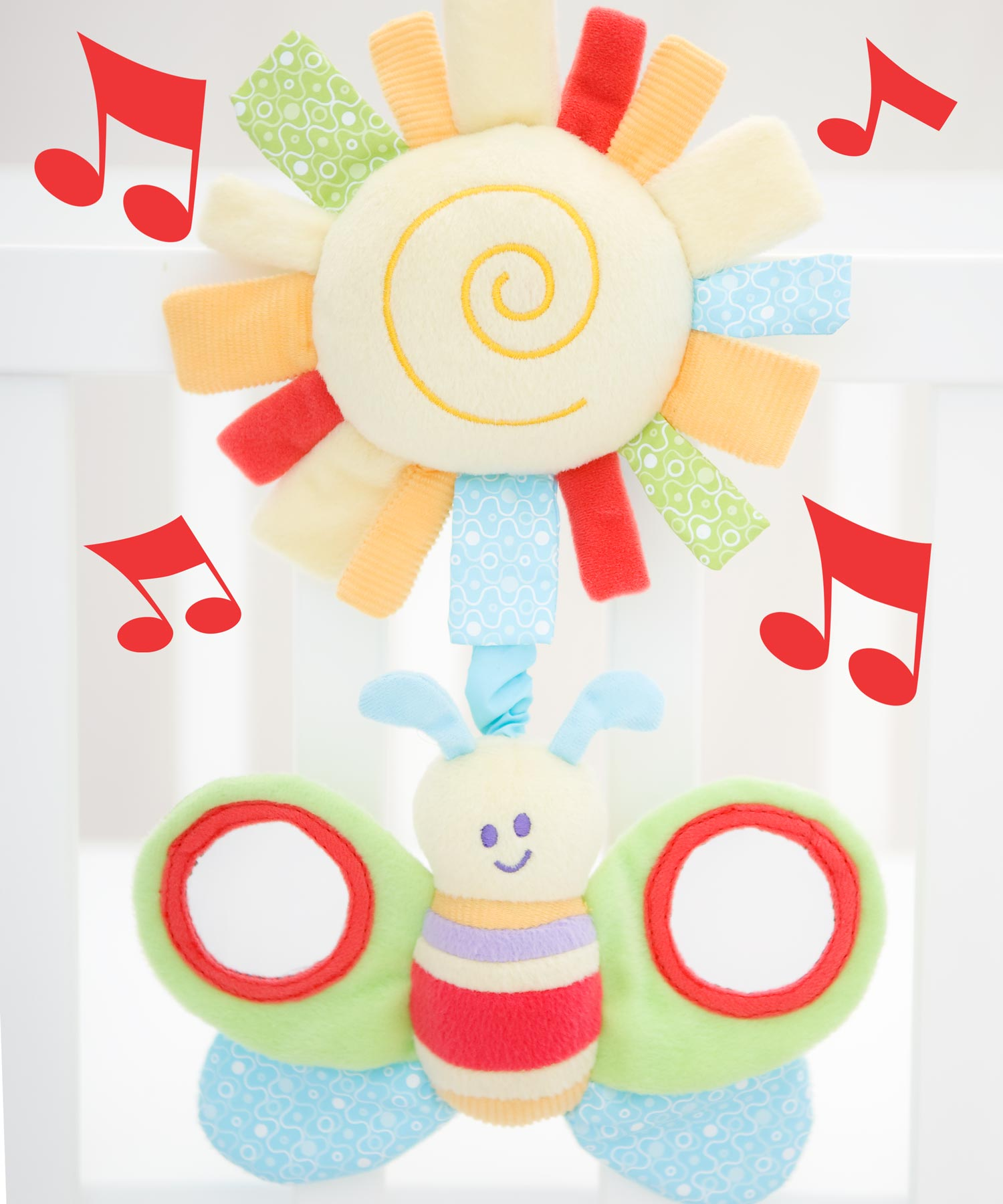 Breezy Butterfly Musical Pull Toy