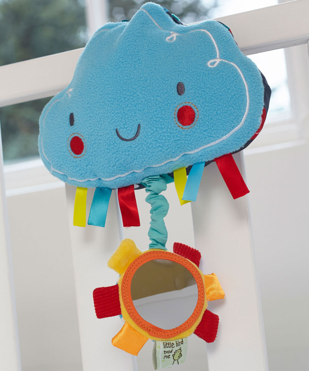 Fluffy Cloud Musical Pull Toy