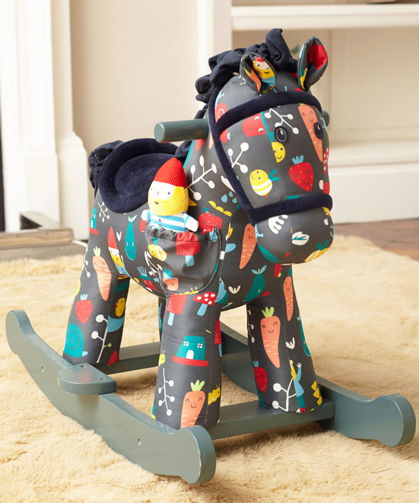 LB3068 - Rocket & Bud Rocking Horse
