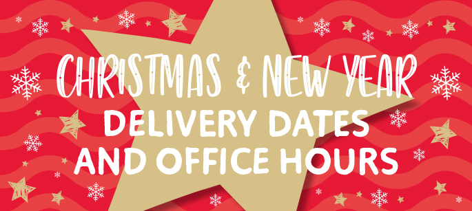 Seasonal Opening and Delivery Times